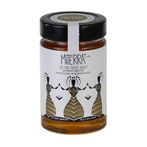 Miterra | Θυμαρίσιο Μέλι Με Αρωματικά Φυτά & Πεύκο 250g | Minoan Gaia