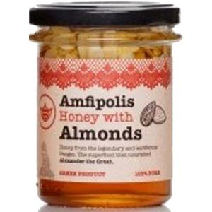Μέλι με Αμύγδαλα 250g - Μέλι Αμφίπολης