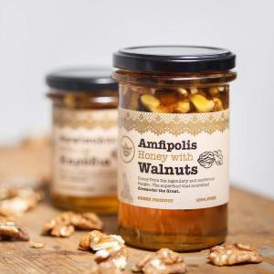 Μέλι με Καρύδια 250g - Μέλι Αμφίπολης