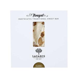 Lazaris Μαντολάτο Κλασικό | Παραδοσιακό Χειροποίητο Γλύκισμα με Αμύγδαλο 150g | Lazaris Distillery & Artisan Sweets