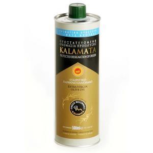 Extra Virgin Olive Oil PDO Kalamata, Tin 500ml - Olymp
