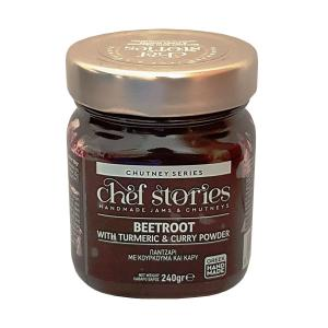 Beetroot Chutney with turmeric & Curry Powder 240g- Chef Stories