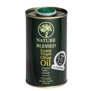 Nature Blessed Extra Virgin Olive Oil, metal container 250ml - Nature Blessed