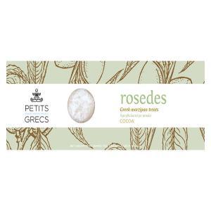 Ροζέδες με Κακάο | Χειροποίητα Αμυγδαλωτά 110g | Petits Grecs