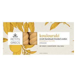 Petits Grecs Koulouraki with Orange 160g - Petits Grecs