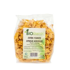 Corn Flakes Ολικής Αλέσεως  BIO 220g- Βιοβλαστός