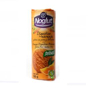 Μπισκότα Digestive με Πορτοκάλι  Χωρίς Γλουτένη 195g - Βιοβλαστός