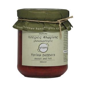 Σάλτσα Πιπεριές Φλωρίνης Γλυκοκαυτερές 200g - Yiam