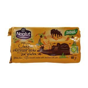 Μπισκότα  Ζούγκλας Με Σοκολάτα Χωρίς  Γλουτένη 60g - Βιοβλαστός