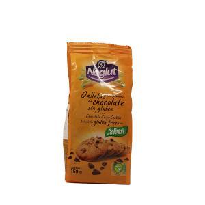 Μπισκότα με κομμάτια σοκολάτας Χωρίς  Γλουτένης 150g - Βιοβλαστός