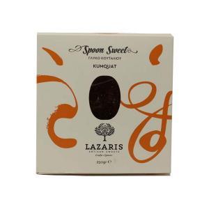 Lazaris Γλυκό Κουμ Κουάτ Στραγγιστό σε Κουτί 250g - Lazaris Distillery & Artisan Sweets