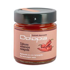 Σάλτσα Κόκκινης Πιπεριάς 250g - Dolopia