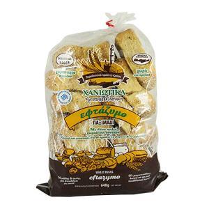 Χανιώτικα Επτάζυμα Παξιμάδια 640g - Αρτοποιεία Κλαπάκη
