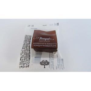 Lazaris Μαντολάτο Σοκολάτα με Κουμ Κουάτ Καρέ (Μπουκιές) 1kg - Lazaris Distillery & Artisan Sweets