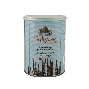 Cretan Woodland Honey with Sage, Tin 270g - Meligyris
