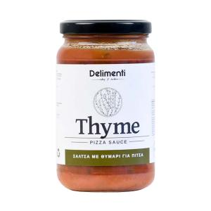 Thyme Pizza Sauce 330g - Delimenti