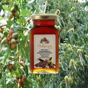 Ελληνικό Μέλι Βελανιδιάς Καστανιάς   Φυσικό Άθερμο 450g   Μελίγυρις