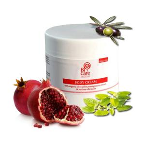 Bi-Care Body Cream with Pomegranate Extract & Melissa 200ml - Efkarpia Farm