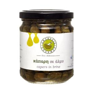Capers in Brine 180g - Amvrosia Gourmet