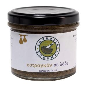 Tarragon in Oil 100g - Amvrosia Gourmet