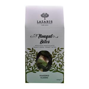 Lazaris Μπουκιές Μαντολάτο Κλασικό 160g - Lazaris Distillery & Artisan Sweets