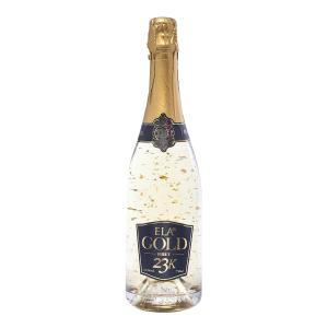 Ela Gold | Λευκός Ξηρός Αφρώδης με Φύλλα Χρυσού (Giga Flakes) Αθήρι Chardonnay Παλαιωμένος (2007)  750ml | ΕΛΑ ΙΚΕ