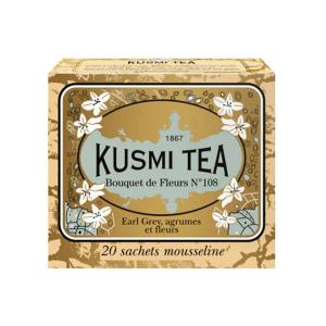 Bouquet of Flowers No108 20 Muslin Tea bags- Kusmi Tea