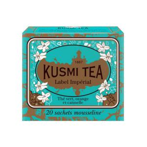 Label Imperial 20 Muslin Tea bags - Kusmi Tea
