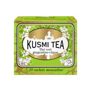 Ginger Lemon Green Tea 20 Muslin Tea bags - Kusmi Tea