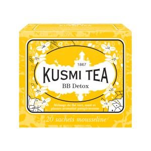 Herbal Tea BB Detox 20 Muslin Tea bags - Kusmi Tea