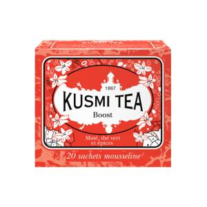 Herbal Tea Boost 20 Muslin Tea bags - Kusmi Tea