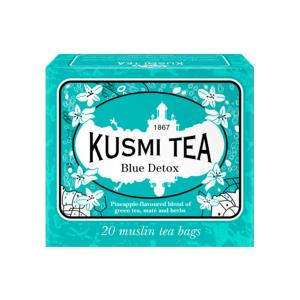 Herbal Tea Blue Detox 20 Muslin Tea bags - Kusmi Tea