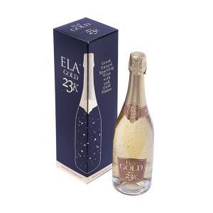 Ela Gold | Λευκός Ξηρός Αφρώδης με Φύλλα Χρυσού Αθήρι Chardonnay Παλαιωμένος (2007)  750ml | ΕΛΑ ΙΚΕ