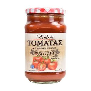 Tomato Paste 760g | Made with Fresh Tomatoes and Sea Salt | Genna tin Paradosi