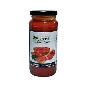 Κέτσαπ Απαλή 340g | Χειροποίητη Ελληνική Ketchup | Γεννά την Παράδοση