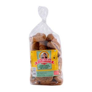 Ντακουλάκια 400g | Κρητικά Μικρά Παξιμάδια Ολικής Αλέσεως με Κριθάρι | Φούρνος Βοτζάκη Τα Σφακιά