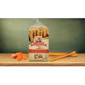 Κριτσίνια με Καρότο 250g | Χειροποίητα Κρητικά Κριτσίνια | Φούρνος Βοτζάκη Τα Σφακιά