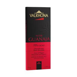 Dark Chocolate Guanaja 70% Bar 70g | Bittersweet, Elegant and Aromatic | Valrhona