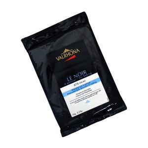 Le Noir 61% Block 1Kg | Μαύρη Σοκολάτα με 'Εντονη Σοκολατένια Γεύση | Valrhona