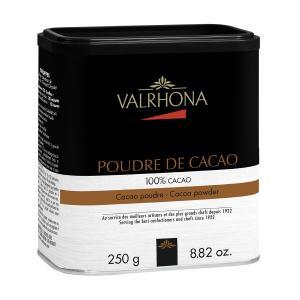 Σκόνη Κακάο Χωρίς Ζάχαρη 250g | Για Ροφήματα Σοκολάτας ή Ζαχαροπλαστική Χρήση | Valrhona