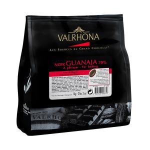 Μαύρη Σοκολάτα Guanaja 70% σε Κόκκους (Beans) 1Kg | Πικρή Σοκολατένια Γεύση | Valrhona