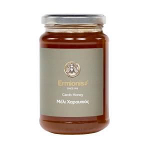 Ermionis | Carob Honey 470g |Greek Natural  | Bairaktaris Apiary