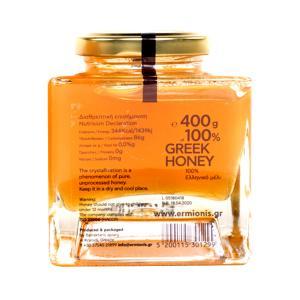 Ermionis   Μέλι Αρωματικών Φυτών και Θυμάρι 400g   Ελληνικό Φυσικό  Μελισσοκομία Μπαϊρακτάρη
