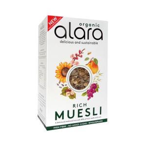 Μούσλι Πλούσιο με 40% Φρούτα Καρπούς και Σπόρους 500g | Βιολογικά Δημητριακά Χωρίς Ζάχαρη | Alara