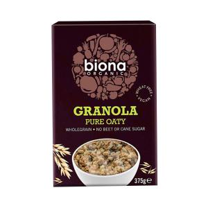 Granola Oaty No Sugar Added 375g - Biona Organic