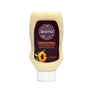 Squeezy Original Mayonnaise 250ml - Biona Organic