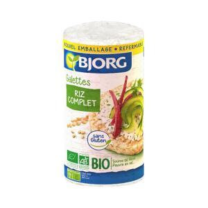 Ρυζογκοφρέτες Ολικής 130g | Βιολογικές Ρυζογκοφρέτες Χωρίς Γλουτένη | Bjorg