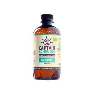 Βιολογικό Ανθρακούχο Ποτό Κομπούχα Γεύση Φυσική 400ml | Captain Kombucha