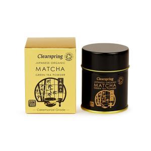 Βιολογικό Πράσινο Τσάι Matcha Ceremonial σε Σκόνη Χωρίς Ζάχαρη 30g | Clearspring