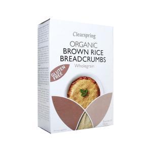 Τριμμένη Φρυγανιά από Αλεύρι Καστανού Ρυζιού 250g | Βιολογική Φρυγανιά Χωρίς Γλουτένη | Clearspring